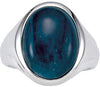 Magnificent Apatite Genuine Gemstone Ring at BitCoin Gems