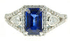 Best Blue SapphireGenuine Gemstone Ring at BitCoin Gems