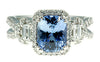 Snazzy Blue SapphireGenuine Gemstone Ring at BitCoin Gems