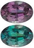 Grade AAA Best Oval Cut Genuine Alexandrite in