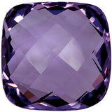 Quality Double Sided Checkerboard Antique Square Cushion Cut A Grade Best Amethyst Gems