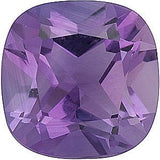 Beautiful A Grade Antique Square Cushion Cut Genuine Amethyst Loose Gem