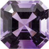 AA Grade Loose Purple Amethyst Gemstones in Asscher Cut