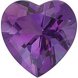 Quality Heart Cut AA Grade Best Amethyst Gems