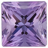 Super Pretty Grade FINE Princess Cut Lilac Swarovski Enhanced Amethyst Gems