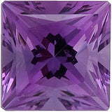 Grade FINE Shop Violet Swarovski Enhanced Amethyst Gemstones Princess Cut
