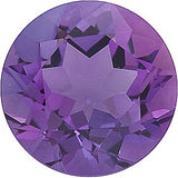 Discount Price Round Cut Grade A Genuine Amethyst Loose Gem