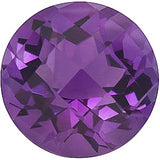 Discount Price Grade AA Checkerboard Round Cut Violet Swarovski Enhanced Amethyst Gemstones