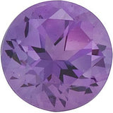 Grade FINE Loose Purple Amethyst Gemstones in Round Cut