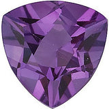 Discount Price Trillion Cut Grade A Best Amethyst Gems
