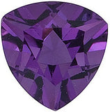 Low Price Grade AA Trillion Cut Calibrated Size Amethyst Gemstones