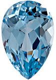 Chatham Loose Aqua Blue Spinel Gemstones in Pear Cut - Grade GEM