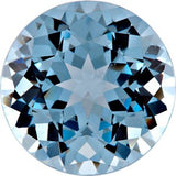 Chatham Loose Aqua Blue Spinel Gemstones in Round Cut - Grade GEM