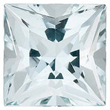 Best Loose Aquamarine Gems in Princess Cut Grade A
