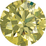 Best Enhanced Round Shape Canary Yellow Diamond Melee
