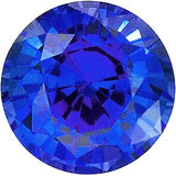 Chatham Loose Blue Sapphire Gemstones in Round Cut - Grade GEM