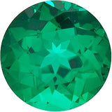 Chatham Loose Emerald Gemstones in Round Cut - Grade GEM