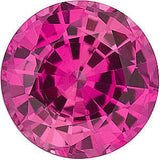 Chatham Loose Pink Sapphire Gemstones in Round Cut - Grade GEM