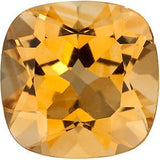 Grade A Genuine Antique Square Genuine Citrine Gemstones