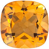 Natural Grade AA Antique Square Genuine Citrine Birthstone Gems