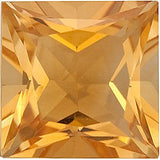 Grade A Best Princess Cut Genuine Citrine Gemstones