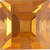 Natural Grade AA Step Square Genuine Citrine Birthstone Gems