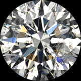 Value Quality Low Price G-H Color Grade - Value Quality Grade 3 in I1-I2 Clarity Grade Round Cut Diamond Melee