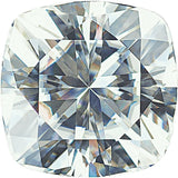 Lab Created Forever One Near Colorless Moissanite in Antique Square Cut, 4.00 mm to 10.00 mm