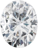 Forever One Moissanite Colorless Oval Cut, 7.00 x 5.00 mm to 9.00 x 7.00 mm