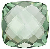 Beautiful Double Sided Checkerboard Antique Square Genuine Green Quartz in Grade AA