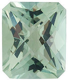 Loose Checkerboard Emerald Genuine Green Quartz Gems in Grade AA