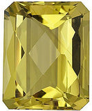 Calibrated Size Checkerboard Emerald Lemon Quartz Loose Gems in Grade AA