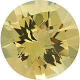 Low Price Round Cut Genuine Lemon Quartz Loose Gems in Grade AAA