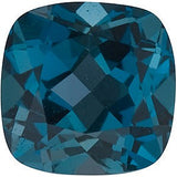 Grade AAA Genuine London Blue Antique Square Cut Topaz Gem