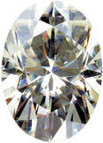 Shop Forever Classic Moissanite Lab Created Gemstones in Oval Cut,  5.00 x 3.00 mm to 14.00 x 10.00 mm