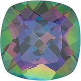 Antique Square Cut Top Quality Mystic Green Topaz Gem in AAA Grade