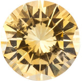 Grade A Beautiful Genuine Yellow Sapphire Gemstones in Round Cut
