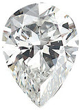 Top Quality VS Clarity GH Color Pear Shape Natural Diamond Melee, 4.00 x 2.50 mm to  6.50 x 4.50 mm