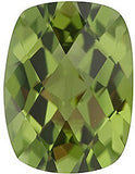 Best Price Checkerboard Antique Cushion Cut Loose Peridot Gems in AAA Grade