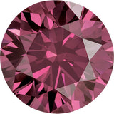 Beautiful Pink Color Round Enhanced Diamond Melee Stones