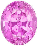 Discount Price AA Grade Pink Sapphire Gems in Oval Cut