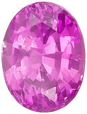 Excellent Oval Cut Genuine Pink Sapphire Gems in Grade AAA