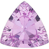 Grade A Loose Natural Trillion Cut Genuine Pink Sapphire Gemstones