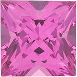Beautiful No Treatment Pink Spinel Princess Cut in Grade GEM