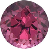 Round Cut Shop Genuine Swarovski Pink Rose Rhodolite Garnet Gems in Grade AAA