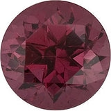 AAA Grade Genuine Loose Swarovski Raspberry Rhodolite Garnet Gemstones in Round Cut