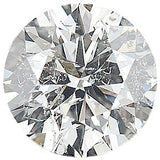 Genuine Round Cut Diamond Melee, IJ Color - I1 Clarity