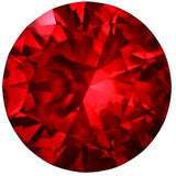 Best Round Swarovski Top Gem Vivid Red Genuine Loose Ruby Gemstone Precision Cut