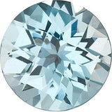 Discount Price Sky Blue  Topaz Gem in Round Checkerboard Cut AAA Grade