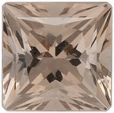 AAA Grade Best Genuine Smokey Quartz Gemstones in Sand Color Princess Cut